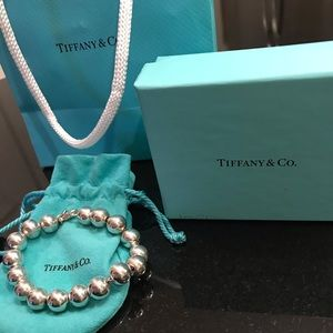 Tiffany &Co. Sterling Silver Pearl Bracelet